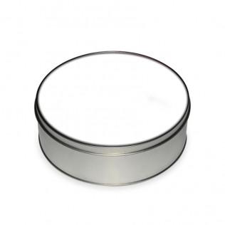 Caja redonda de chapa para sublimación es-007