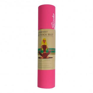Esterilla antideslizante bicolor para Yoga Pilates  Rojo