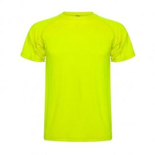 Camiseta roly montecarlo sublimación blanca y colores