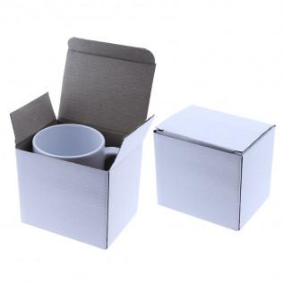 Taza blanca para sublimación con caja