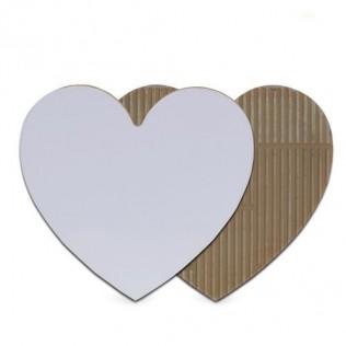 Portafotos azulejo corazón sublimación pc-05