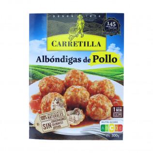 Albóndigas pollo carretilla 300g