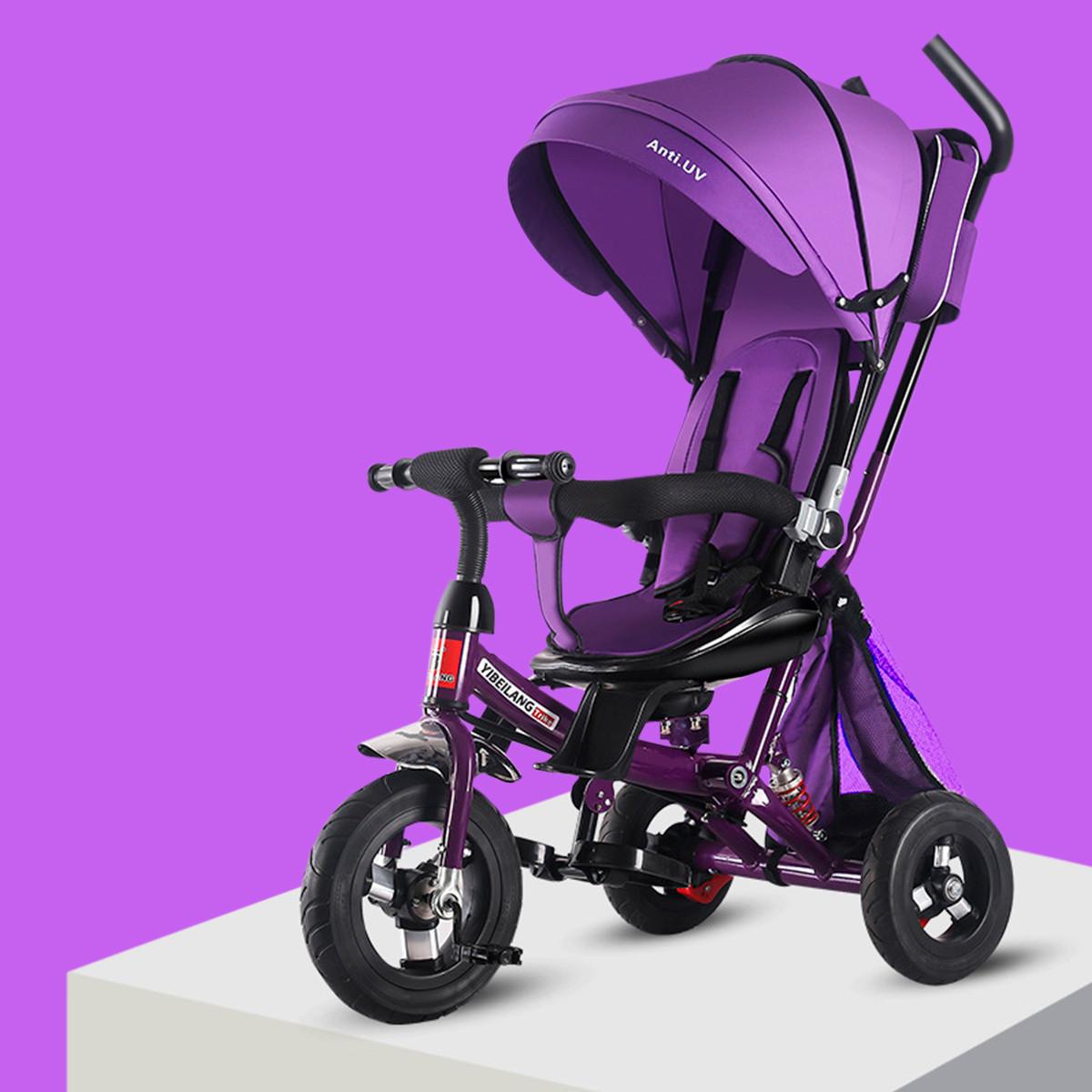 miniatura 50 - Triciclo-con-Capota-para-Ninos-Transformable-Pacifier