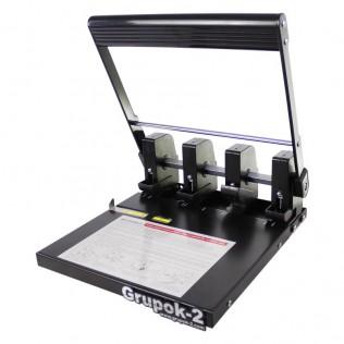 Encuadernadora y perforadora manual wh290c