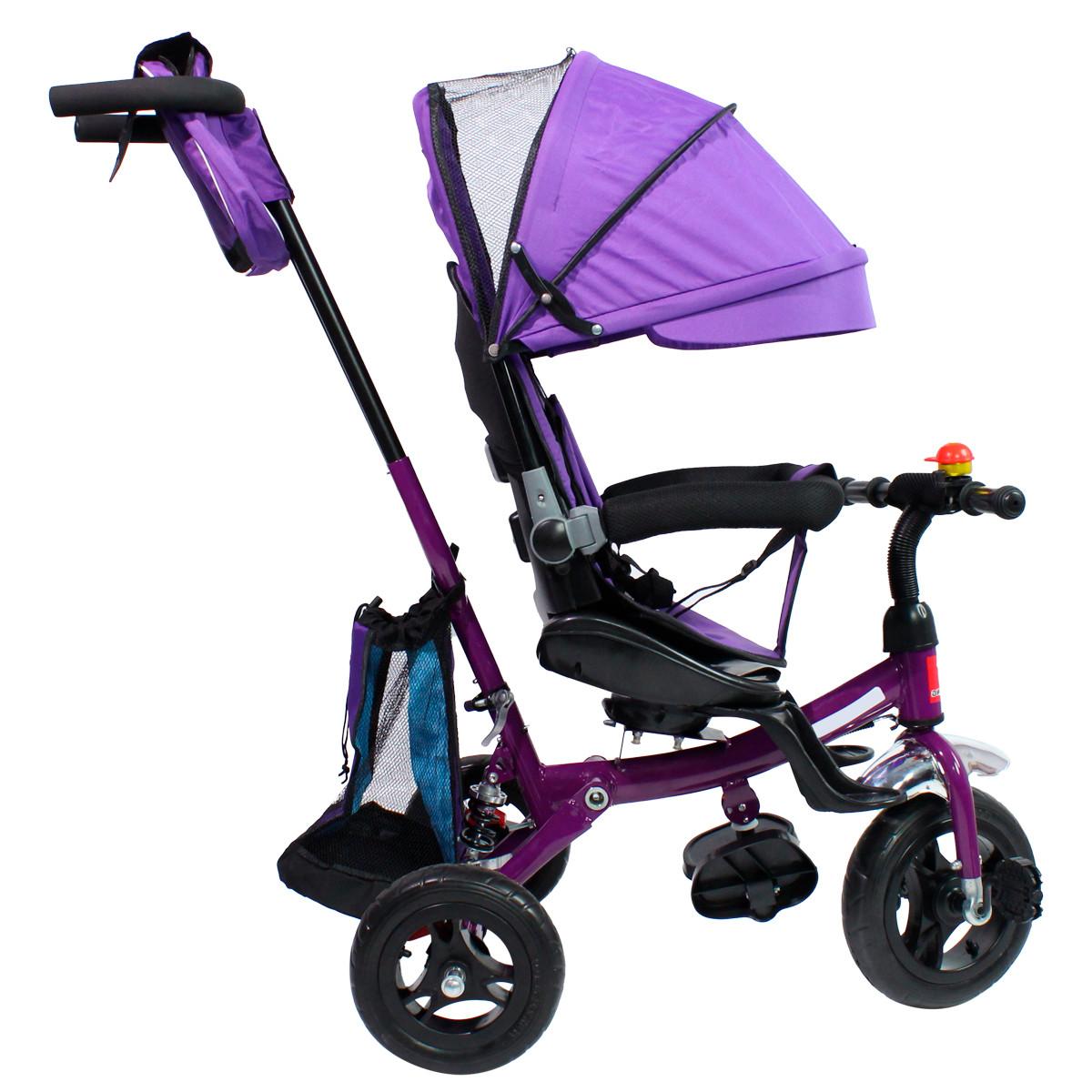 miniatura 49 - Triciclo-con-Capota-para-Ninos-Transformable-Pacifier