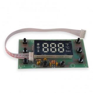 Placa con pantalla para mini horno 3d st1520