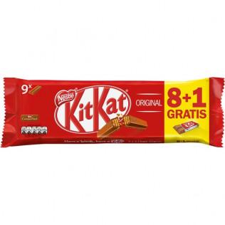 CHOCOLATE KIT-KAT P8 + 1 GRATIS