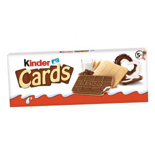 GALLETA KINDER CARDS 131G