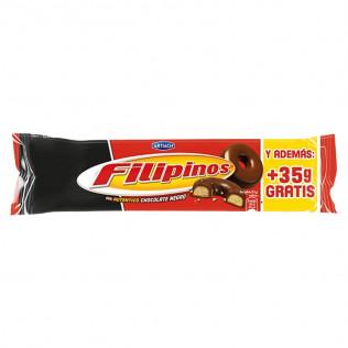 GALLETAS FILIPINOS CHOCO 100+35G
