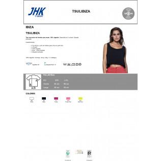 Top Crop Ancho de Tirantes para Mujer. JHK-IBIZA