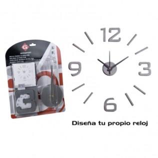RELOJ PARED ELISSA 50X50 - EVA