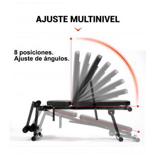 Banco abdominales multiusos plegable AB07E