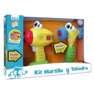 KIT TALADRO Y MARTILLO KD