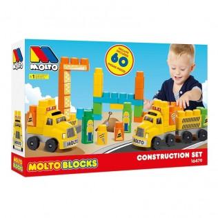 MOLTO BLOCKS SET EMERGENCIA 60 PIEZAS