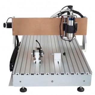 FRESADORA CNC 6090 CONTROLADOR DSP 4 EJES 2200W FC401