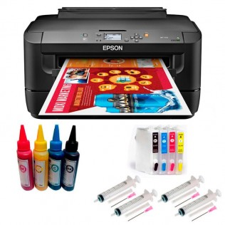 Impresora tinta pigmentada epson a3 con cartuchos rellenables