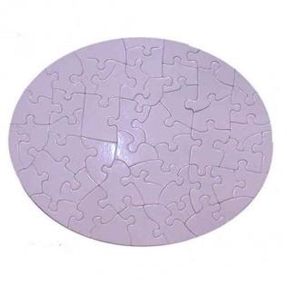 Puzzle imán ovalado 24 x 19 cm para sublimar pir1924-50
