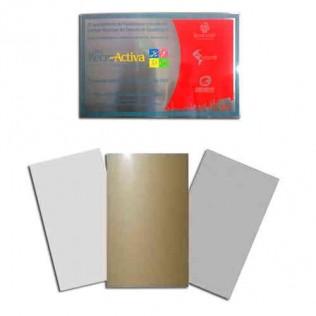 Placas de aluminio para sublimación