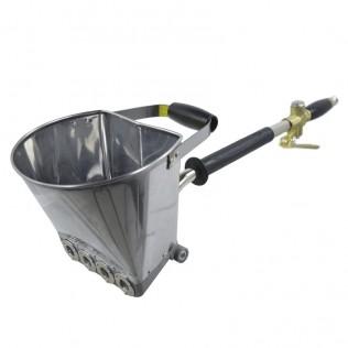 Máquina revocadora para proyectar cemento y mortero Rociador Portatil de aire
