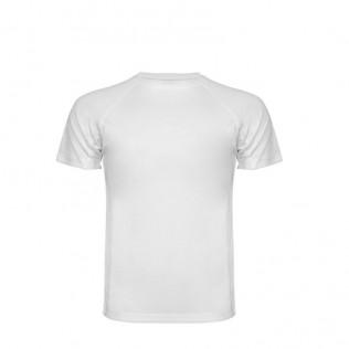 Camiseta poliéster manga ranglán 140g sublimación