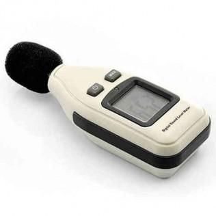 Sonómetro medidor nivel acústico digital