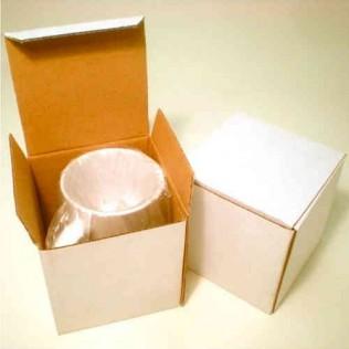 Taza blanca resistente al lavavajillas para sublimación calidad extra ts03 con caja para sublimación