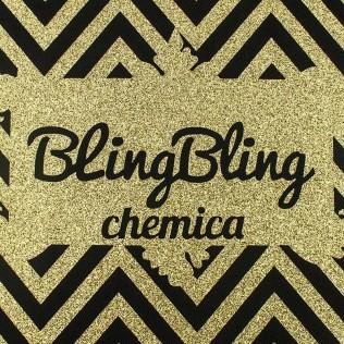 VINILO CORTE TEXTIL BLING-BLING STAR CHEMICA 50 CM