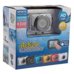 Videocámara deportiva sumergible action camcoder