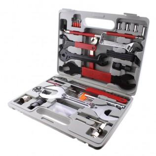 Caja de herramientas de reparación de bicicletas