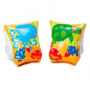 MANGUITOS HINCHABLES UNDER THE SEA 20 x 15 CM INTEX