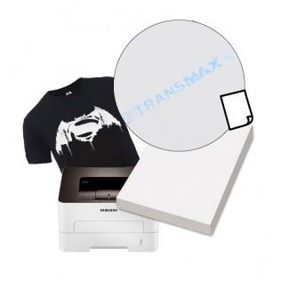 Papel transfer algodón para impresora laser