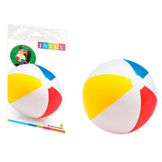 PELOTA HINCHABLE PANELES INTEX 51 cm