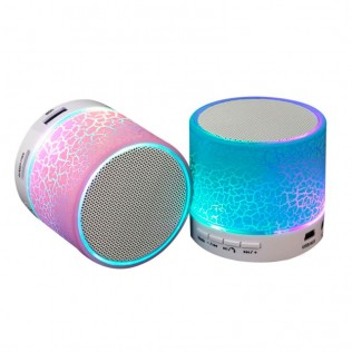 ALTAVOZ MINI CON LUZ BLUETOOTH D-AH