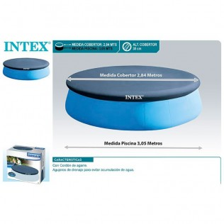 CUBIERTA PARA PISCINA DE 3,05 M EASY SET INTEX