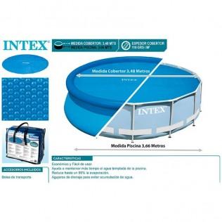 PROTECTOR SOLAR INTEX PISCINAS DE 3,66 M