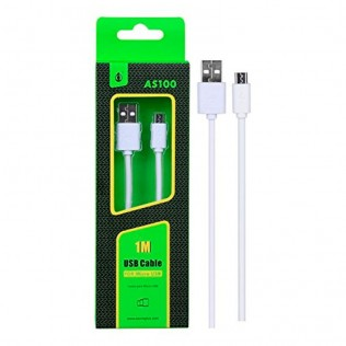 CABLE MICRO USB 1m AS100