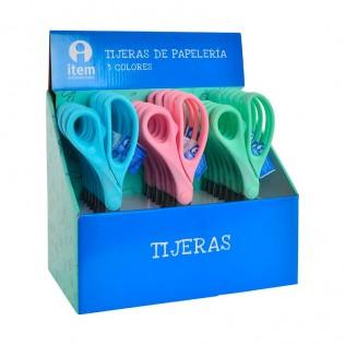 TIJERAS PP INOX 7,5X21,5 2MM 3 SURT.