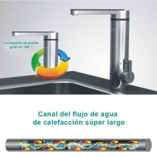 Calentador de agua instantáneo grifo