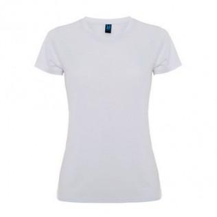 Camiseta roly montecarlo mujer sublimación blanca