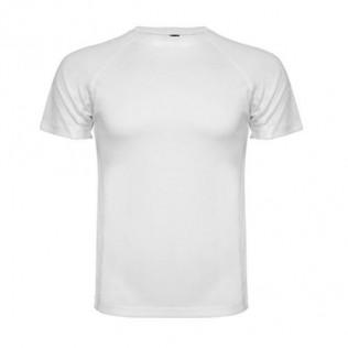 Camiseta poliester sublimación m/ranglan montecarlo niño
