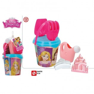 SET PLAYA PRINCESAS DISNEY 18 CM CON ACCESORIOS