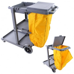 Carro de limpieza multifunción profesional d-011