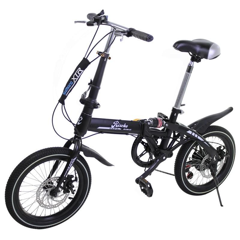 miniatura 25 - Bicicleta-plegable-con-ruedas-de-16-039-039-modelo-Super-Bike