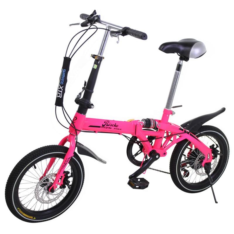 miniatura 61 - Bicicleta-plegable-con-ruedas-de-16-039-039-modelo-Super-Bike