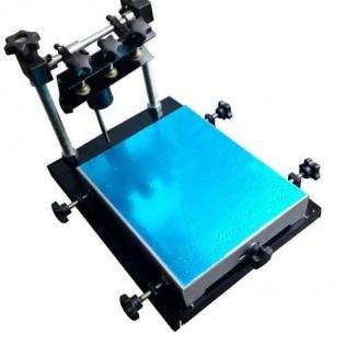 Máquina serigrafía plana manual