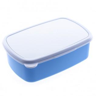 Caja de merienda para sublimación azul