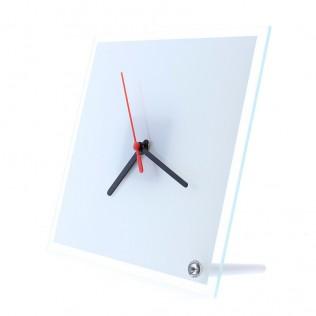 Reloj de cristal cuadrado sublimación rc06