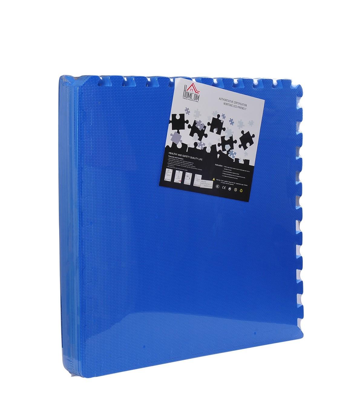 b0bde719a19 HomCom® Alfombra puzzle para Niños y Bebés Goma Espuma EVA - 2