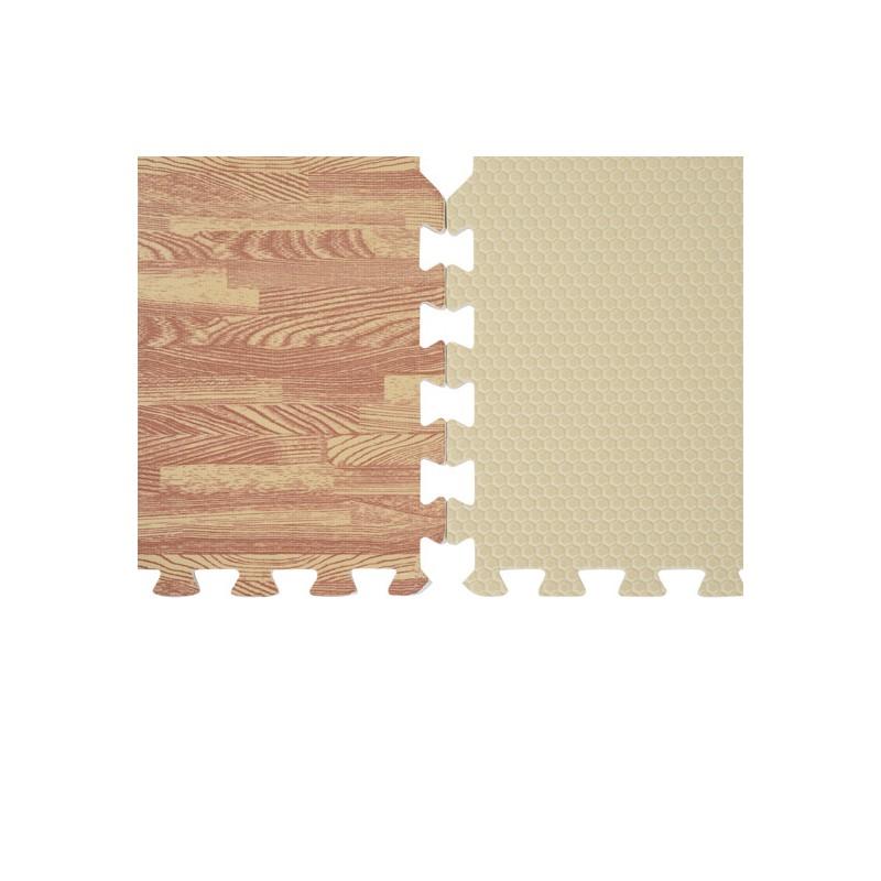fc95ee8580b Alfombra Puzzle para Niños o Gimnasio– Color marrón – Goma Espuma EVA – 9  metros cuadrados
