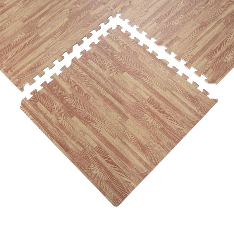 b598afa19cb Alfombra Puzzle para Niños o Gimnasio– Color marrón – Goma Espuma EVA – 60  x 60 x 1cm